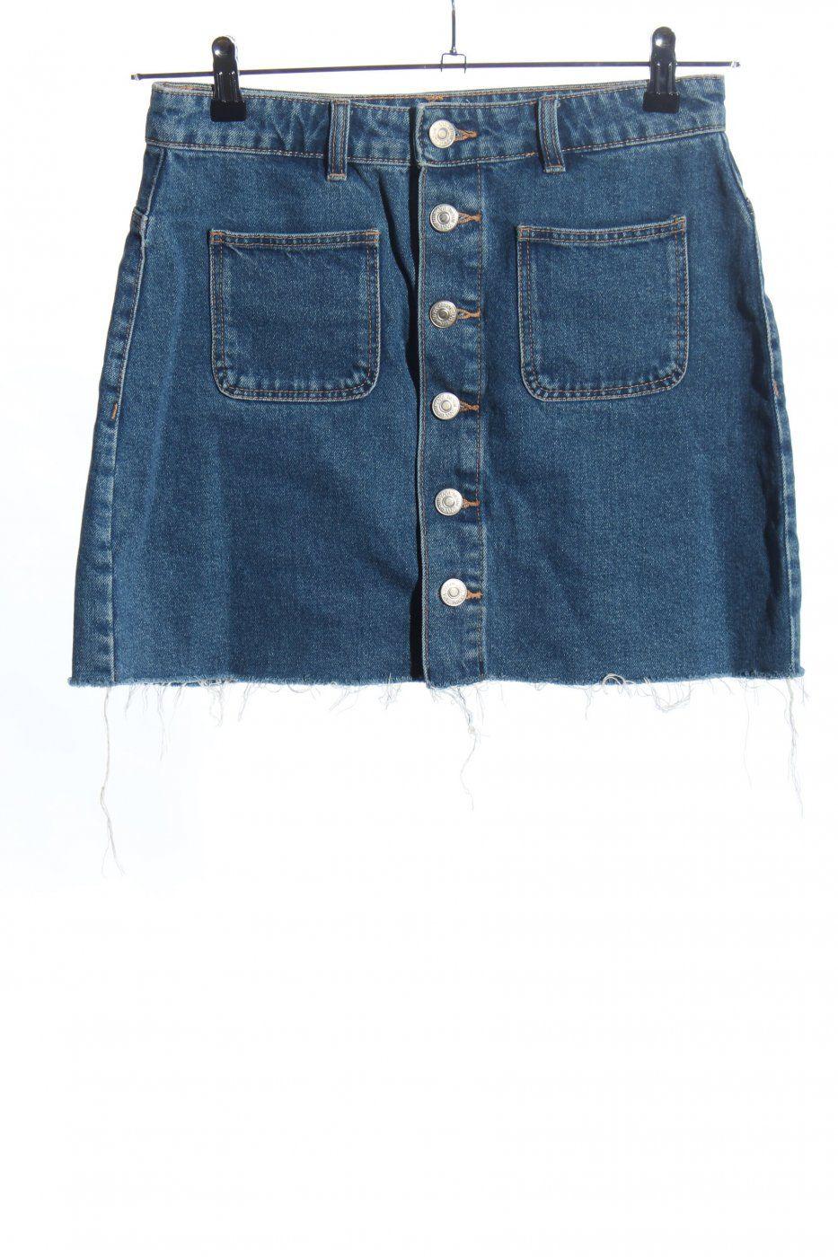 Zara Jeansrock blau Casual-Look | Mädchenflohmarkt