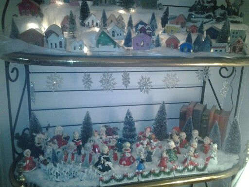 Bakers Rack Decorations Bakers Rack Holiday Decor Decor