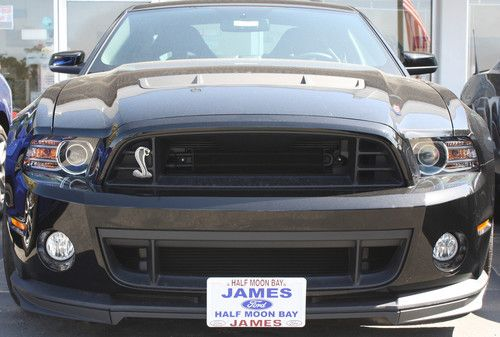 2013 2014 Ford Mustang Shelby Gt500 W Second Chin Splitter
