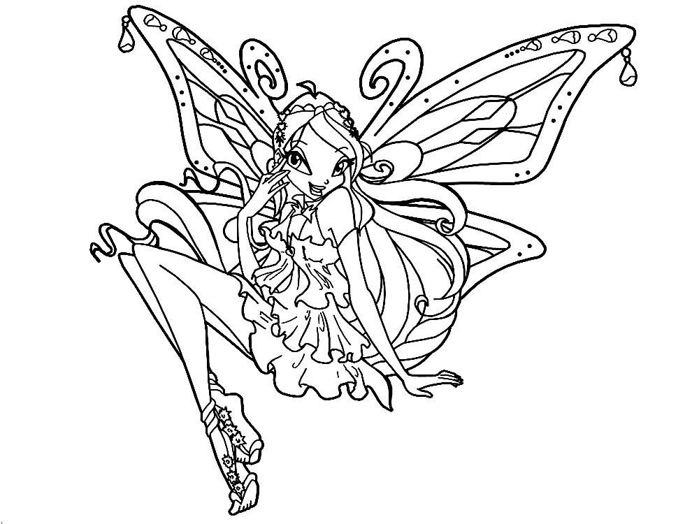 30 Coloriage Winx à Imprimer élégant Bathroom Color Coloring