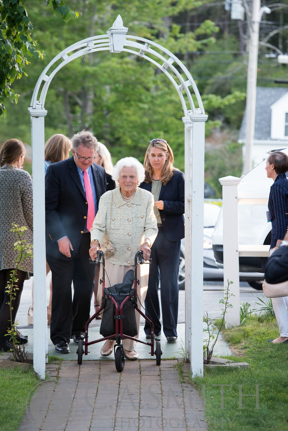 Barbara Bush's 90th birthday celebration at the Ogunquit Playhouse. Upscale catering by Foster's Premium Catering, York, Maine http://www.fosterpremium.com