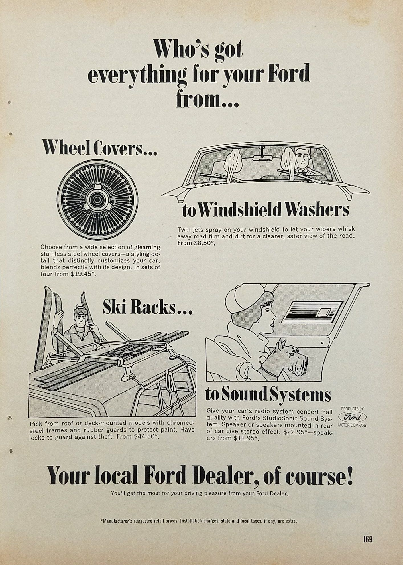 1965 F250 Windshield Washer Diagram Schematic Diagrams Wipers Ford Wiringwindshield Dealers Have Everything For Your Vintage Ad Turn Signal