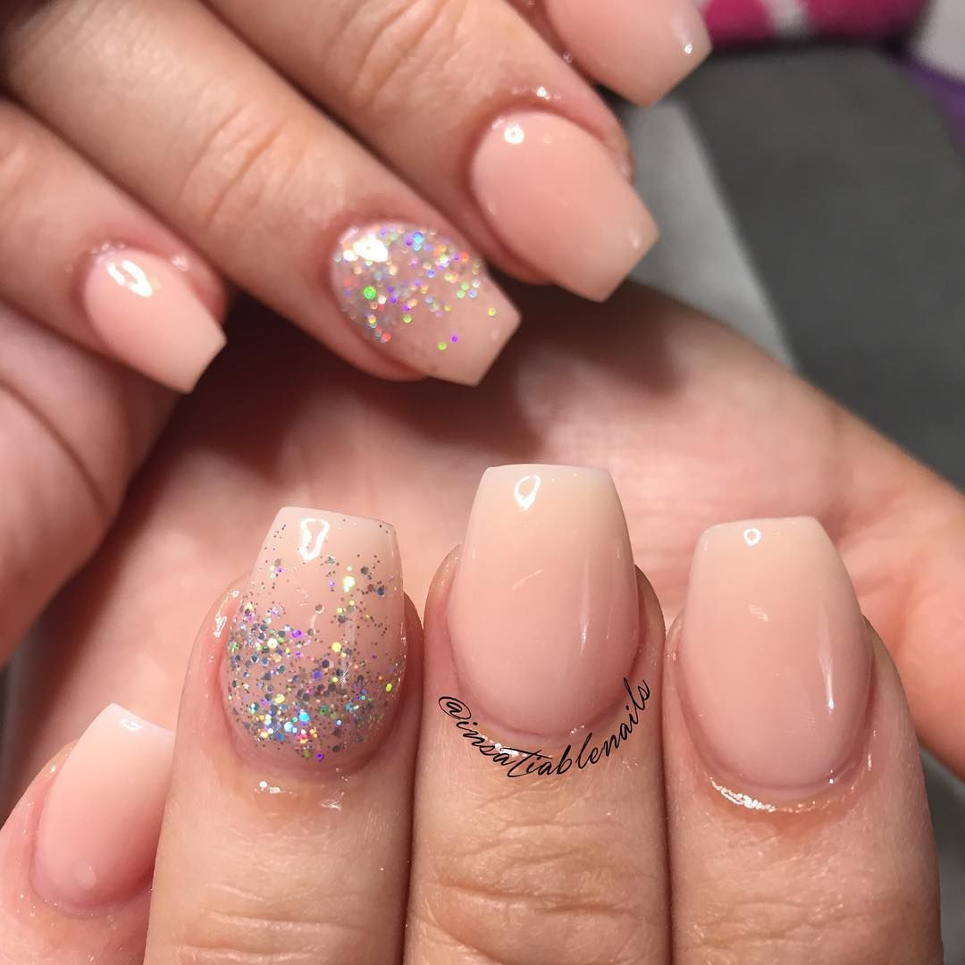 Short, cute and elegant! Loved this set! Using #nsiacrylic ...