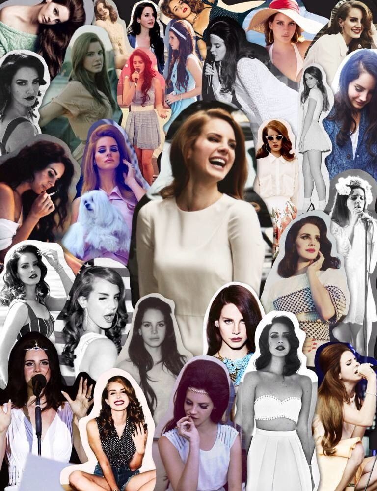 Lana Del Rey And Marina And The Diamonds Collage Tumblr