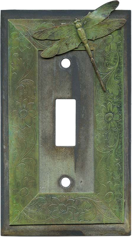 Dragonfly Light Switch Plates, Outlet Covers, Wallplates
