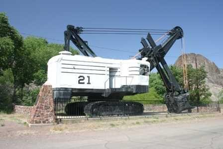 Clifton, Arizona - Mining Equipment