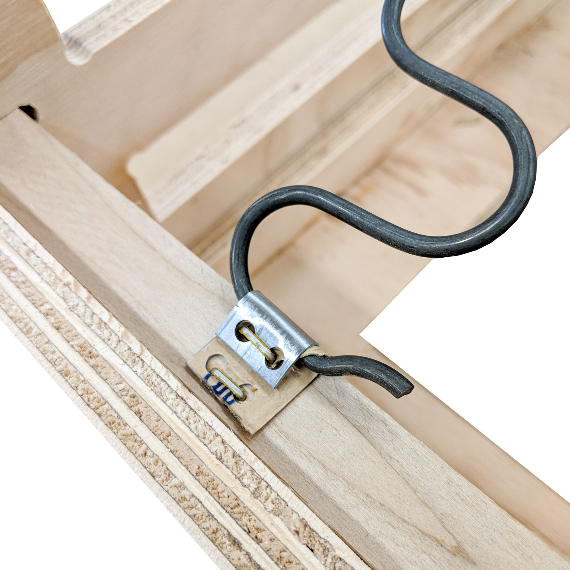 S Clips Key To Attaching Springs To Furniture Frames Upholstery Corner Sofa Design Sofa Frame
