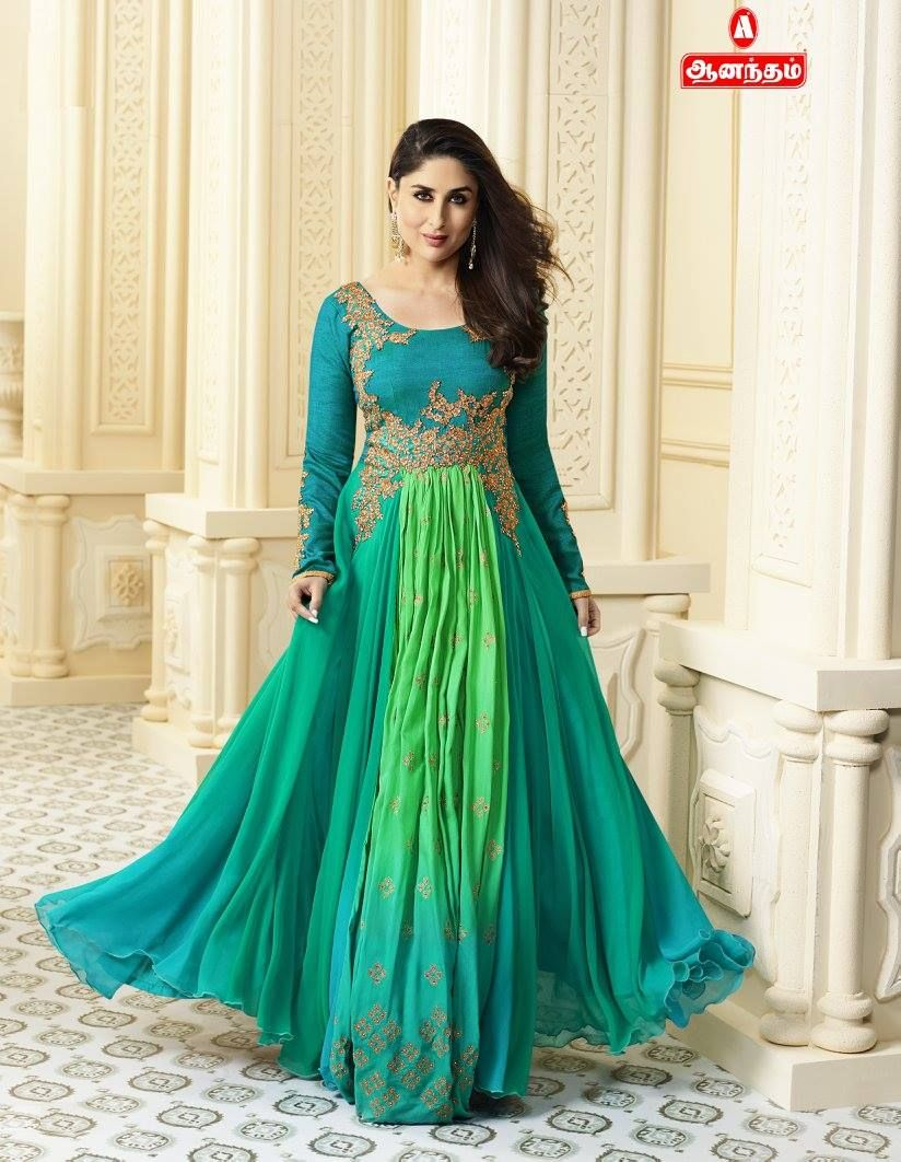 Long Maxi Type Churidhar #Different Color Combinations Only ...
