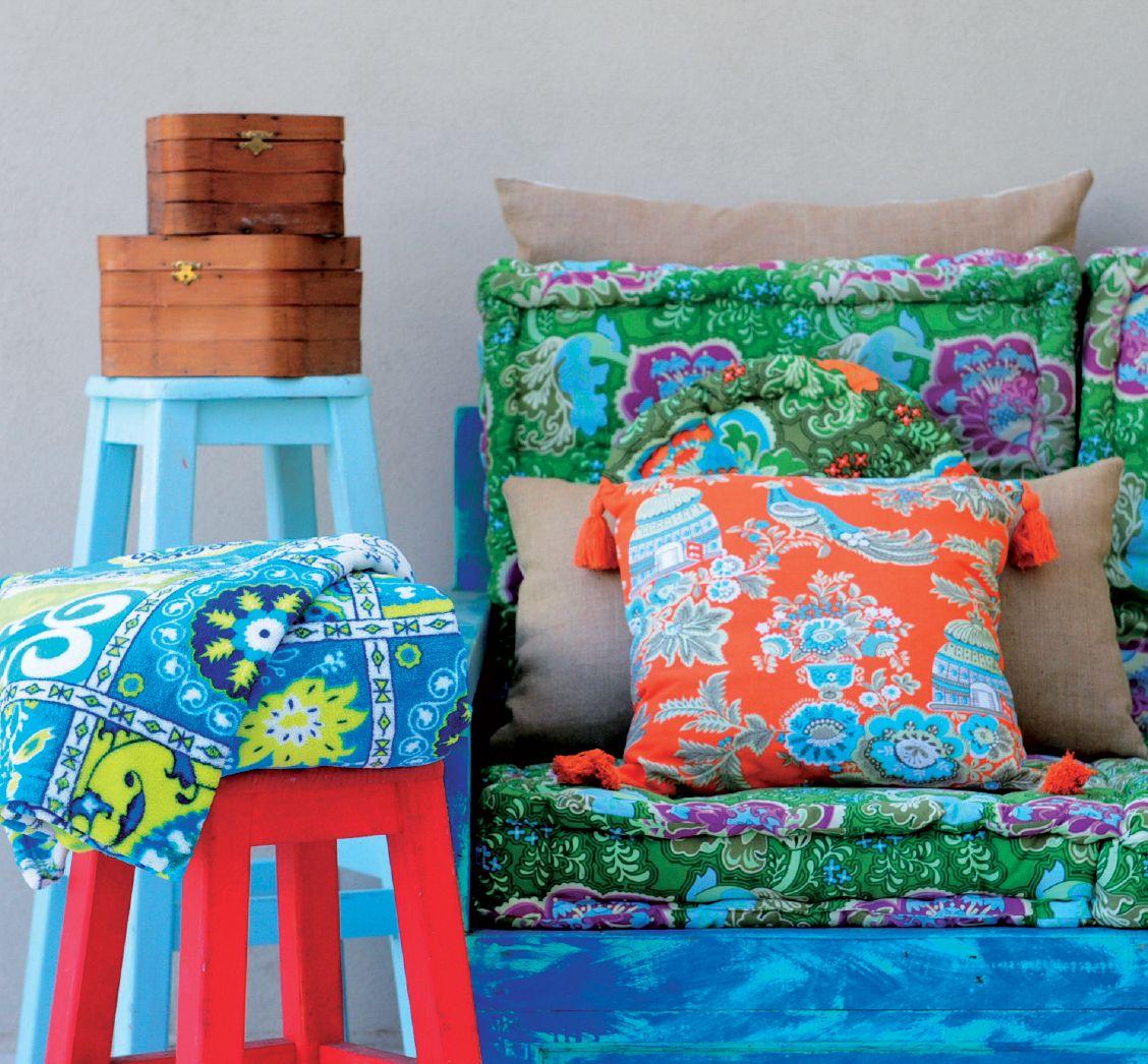Colecci n 2014 decoraci n bazar supermercados coto for Decoracion hogar hippie