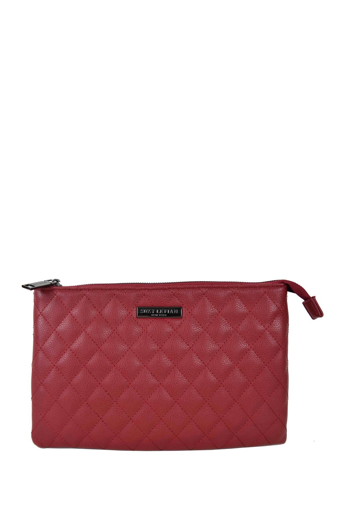 Suzy Levian   Medium Faux Leather Quilted Clutch   Nordstrom Rack #nordstromrack