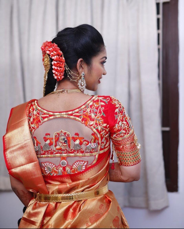 Blouse Designs 2019 Pattu Saree Blouse Designs Trendy Blouse Designs Fashion Blouse Design