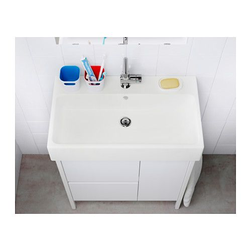 YDDINGEN Sink, 1 Bowl, White 27 1/2. Bathroom FixturesBathroom ...