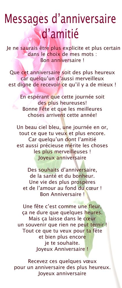 Epingle Par Lydie Lorho Sur Divers Pinterest Birthday Poems