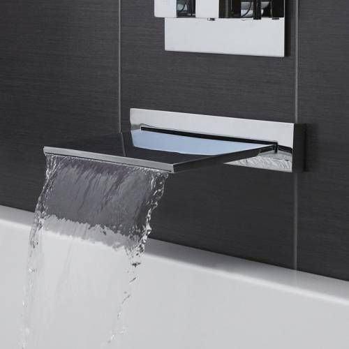 Hudson Reed Wannenarmatur Wasserfall Produktreferenz Pn300 Robinet Salle De Bain Robinet Baignoire Cascade Baignoire Douche