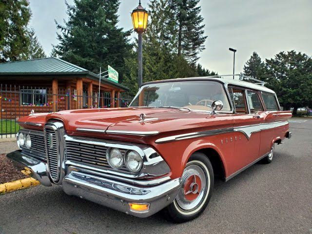 Used 1959 Edsel Villager 6 Passenger Wagon In Eugene Or For Sale In Eugene Oregon In 2020 Station Wagon Cars Edsel Wagon Cars