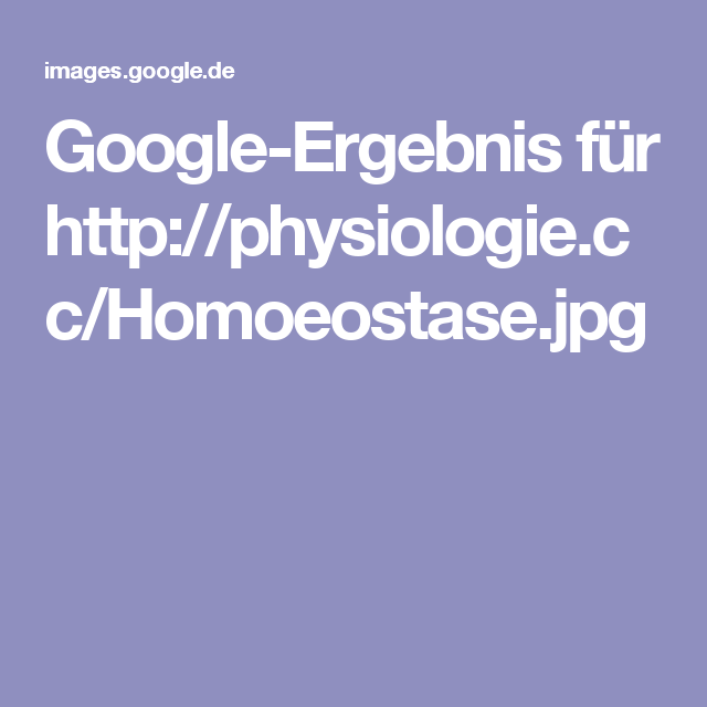 Charmant Bild Der Homöostase Ideen - Anatomie und Physiologie des ...