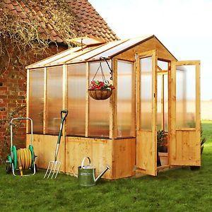 BillyOh Premium plete Wooden Greenhouse 3 x 6 eBay