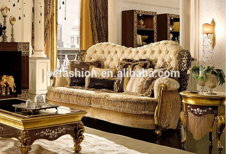 Wholesale Sofa Set Furniture With High Quality Couch In China Fabric Antique Luxury Living Room Sofa View Full Leather Fabric Living Room Sofa Set Oe Fashion Luxury Living Room Luxury Sofa