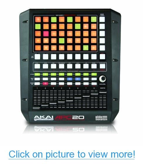 Akai Professional Apc20 Compact Ableton Controller Dj Musik Musik Dj