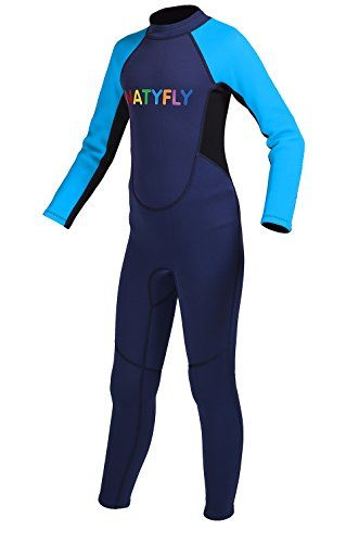 c391b652d08 Wetsuit · Kids Wetsuit for Girls Boys Back Zipper One Piece Swimsuit UV  Protection-Brand NatyFly http