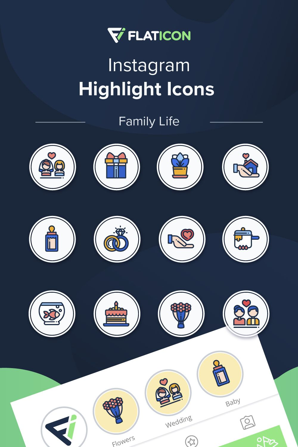 Flaticon in 2020 Instagram highlight icons, Instagram, Icon