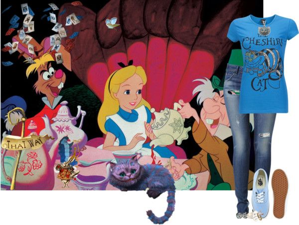 """""""alice in wonderland"""" by ashton-kate ❤ liked on Polyvore"""