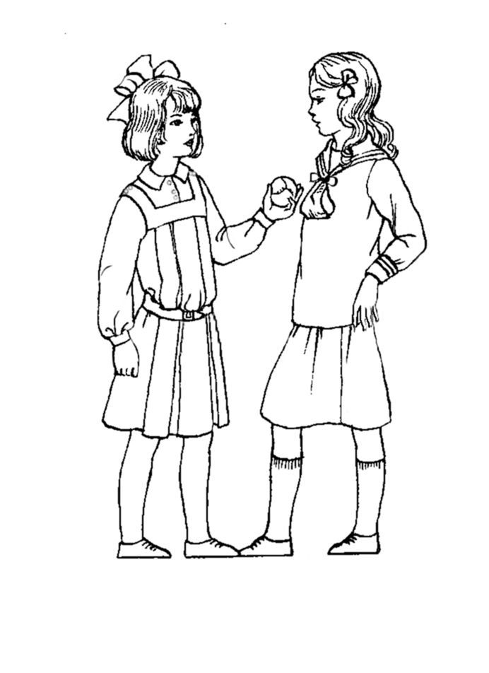 1920s coloring pages for kids | girl's dress from 1910s - Google Search | Costumes for the ...