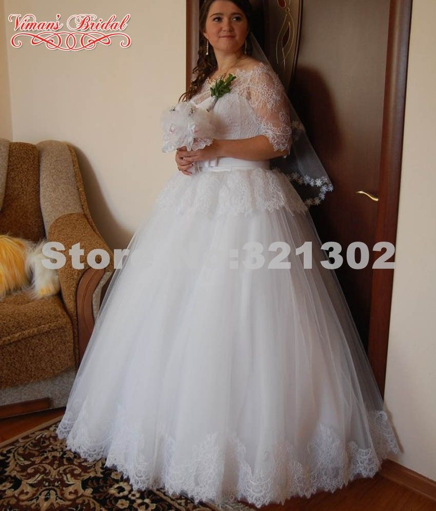 Click to buy ucuc vimanus bridal ball gown wedding dresses boat