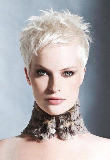 Very Short Blonde Hair Jpeg Blonde Pixie Hair Super Short Hair Short Hair Styles Pixie