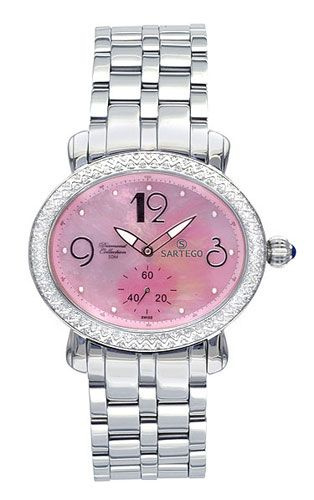 chronowatchco Tissot Ladies Watch | Pink watch, Pink jewelry