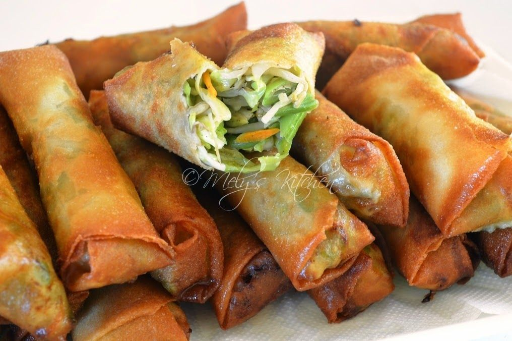 Mely\'s kitchen: Easy Vegetable Lumpia | Food | Pinterest | Mom ...