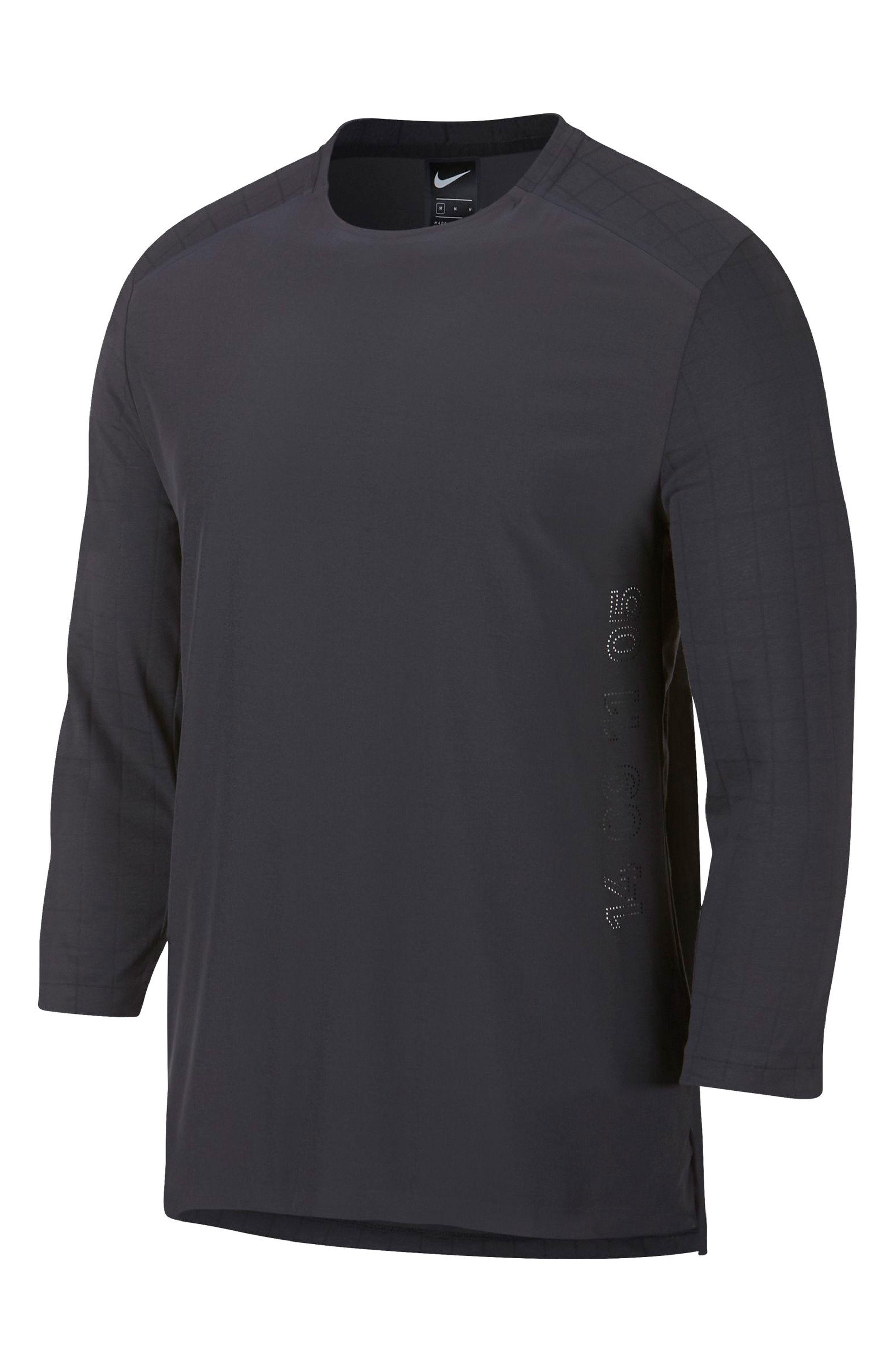 bdeafed3a NIKE RISE 365 THREE QUARTER SLEEVE T-SHIRT. #nike #cloth | Nike in ...
