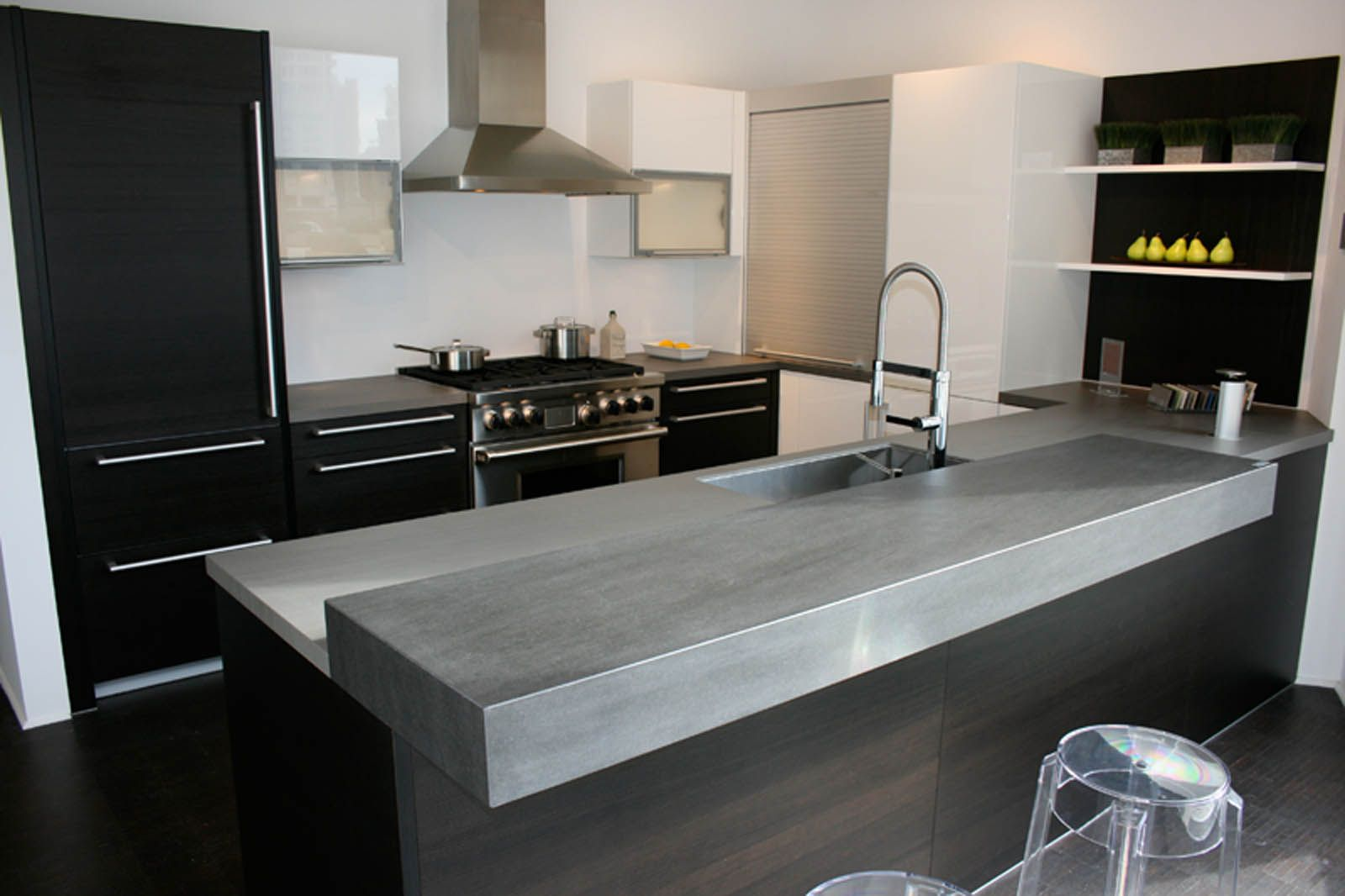 Recycled Glass Countertops San Antonio Neolith Countertop Basalt Grey Model 100 Natural