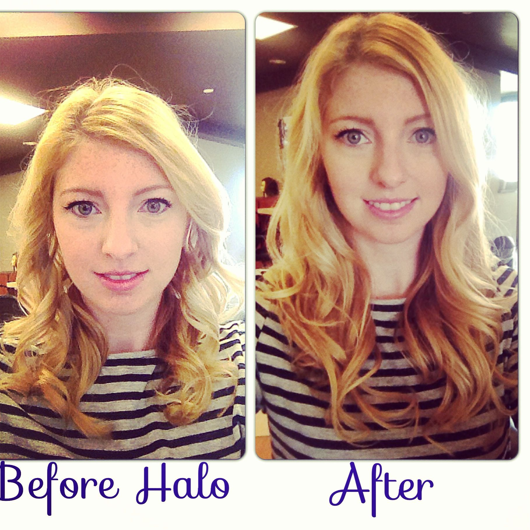 Beforeafter socap hair extensions love long hair pinterest halo couture hair extensions before after pmusecretfo Gallery