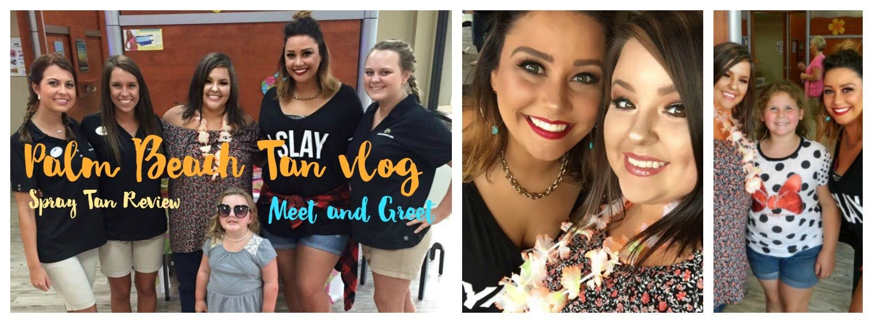 Spray Tanning Review At Palm Beach Tan Meet Greet Vlog