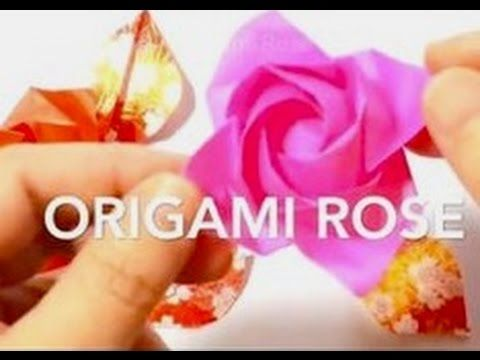 Origami Flower Box - Origami Easy - YouTube   360x480