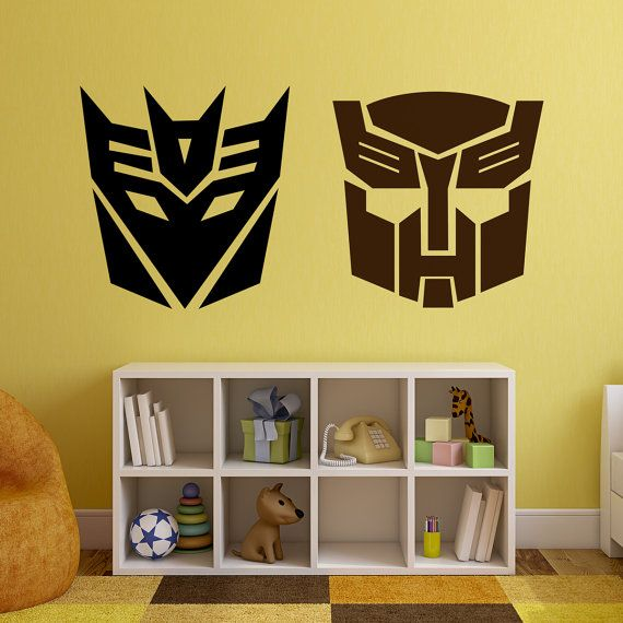 Transformers Autobot and/or Decepticon Logos by WallVinylCreations ...