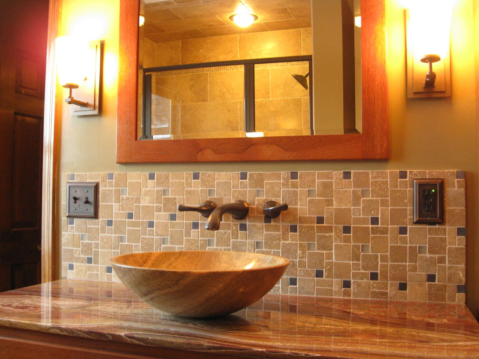 bath ideas craftsman style - Bathroom Tile Ideas Craftsman Style