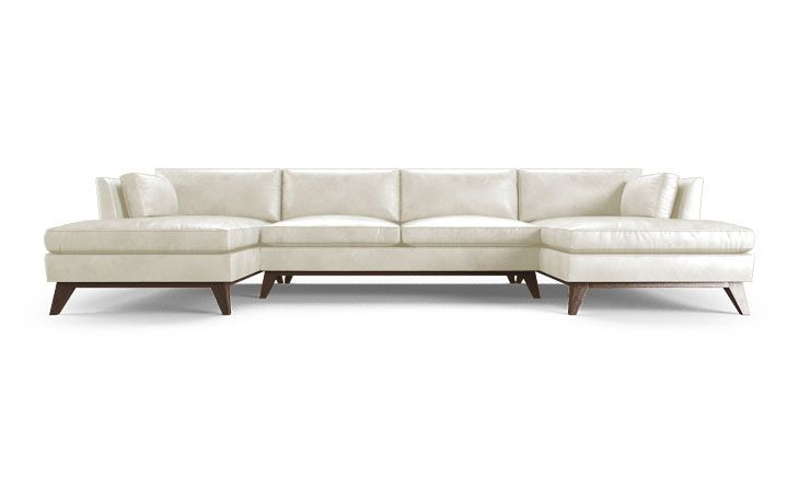Roller Leather U Chaise Sectional Leather Plush And Products