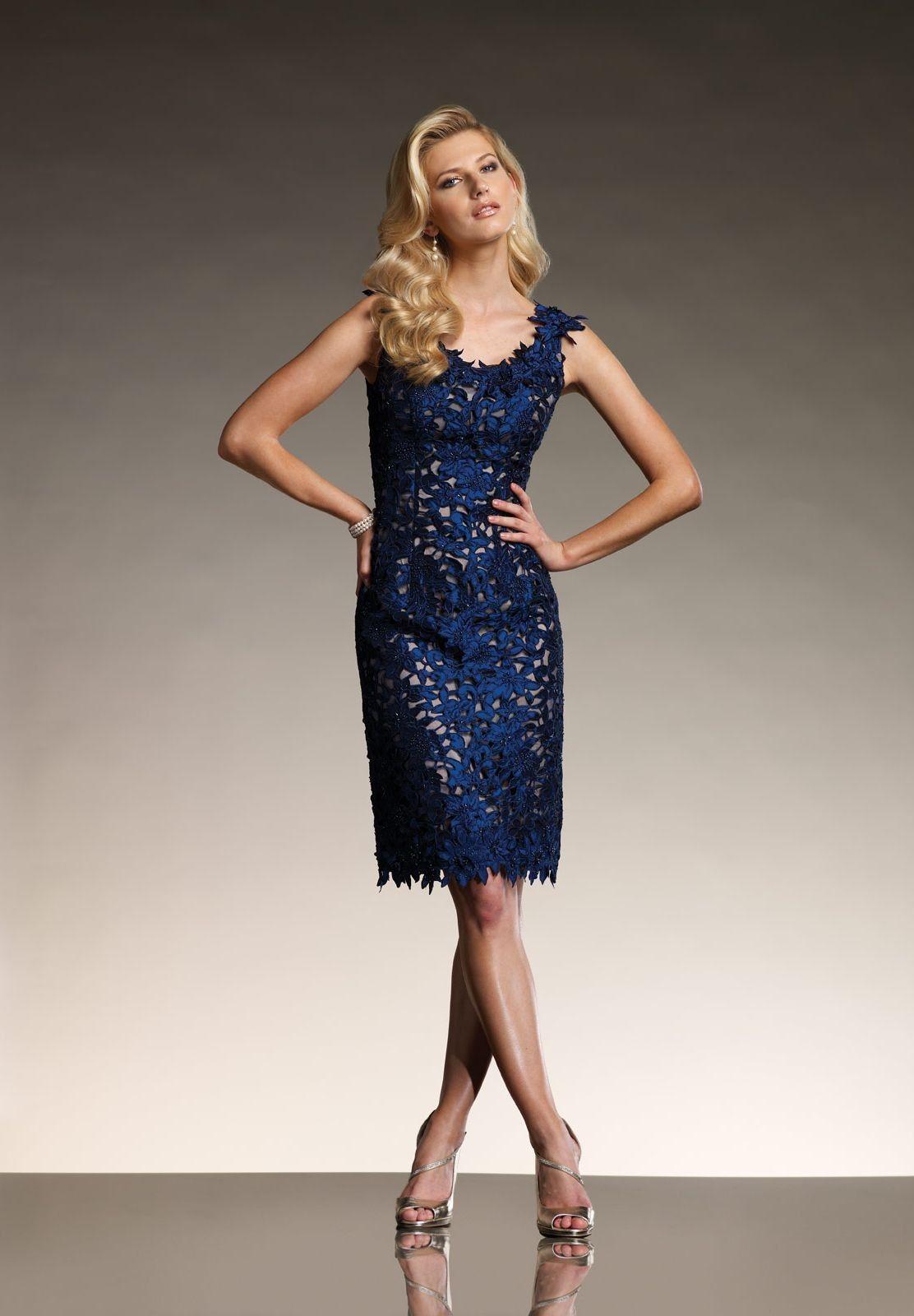 Taffeta Sleeveless Scoop Fashion Knee Length Mother of The Bride ...