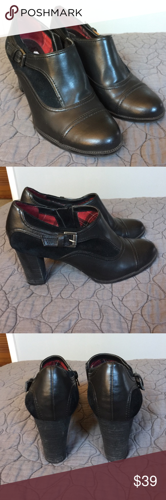 Etienne Aigner Black Booties Beautiful Etienne Aigner Shoes Ankle Boots & Booties