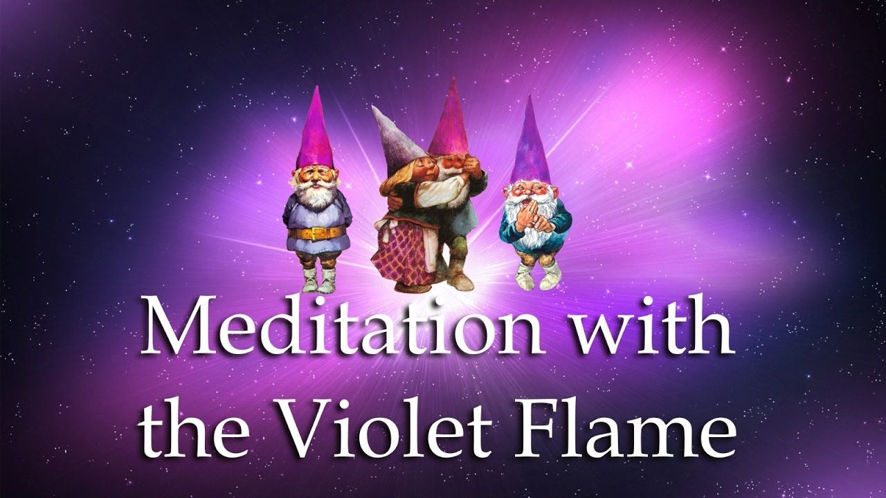 1088 MEDITATION WITH THE VIOLET FLAME - ECP