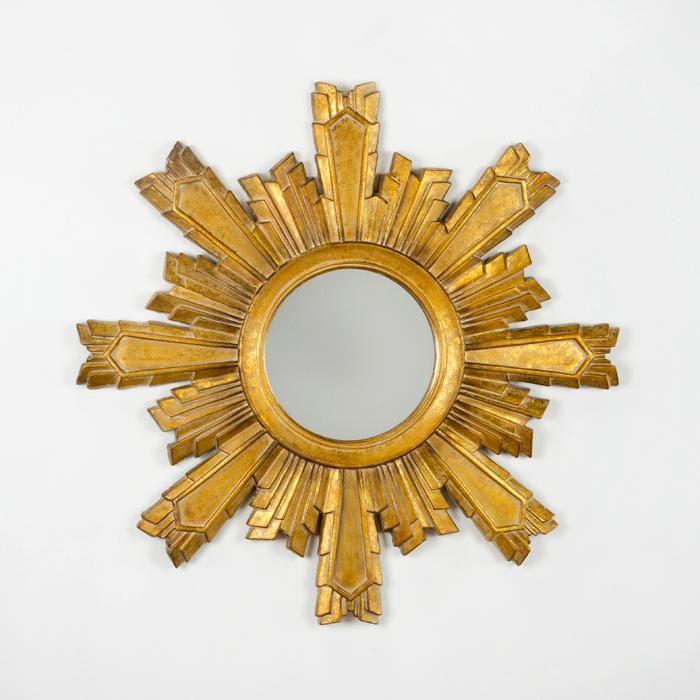 Espelho Dourado _ L99 x P3 x A99cm _ 127.12997/00