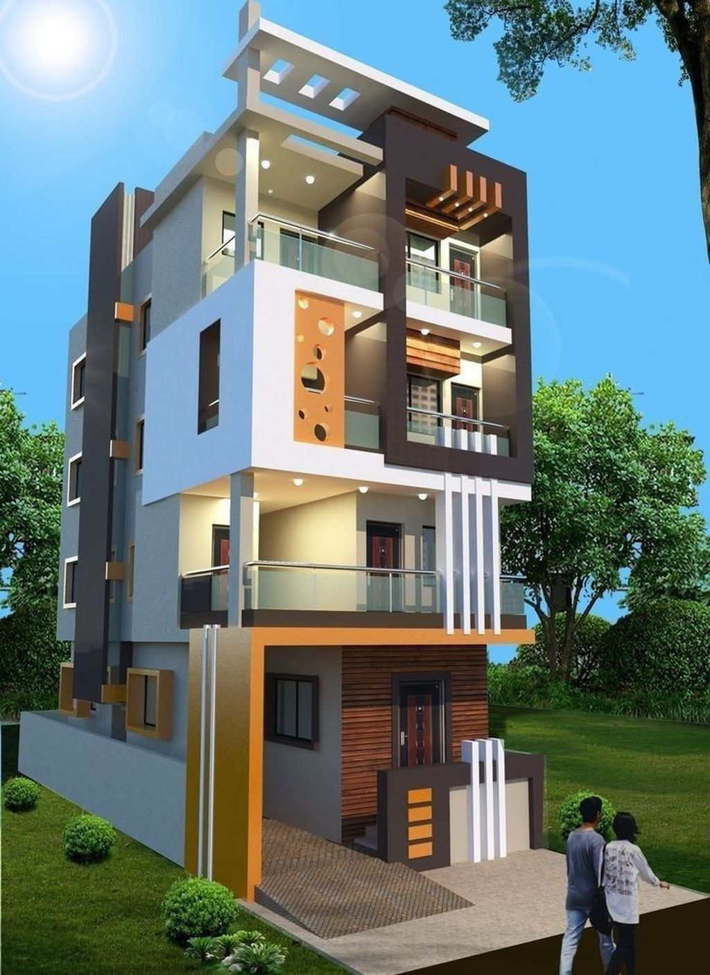 Simple Village Home Design 3d Decorating Ideas Cute766 House home designs for villages in india indian village. design 3d decorating ideas