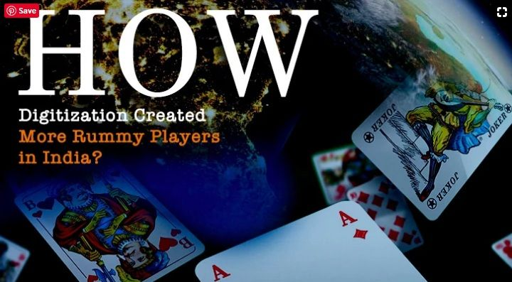 How Digitization Created More Rummy Players in India? in
