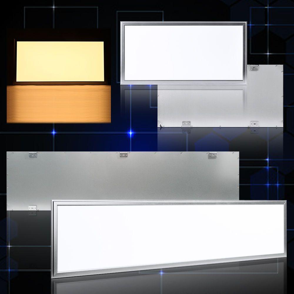 Led Panel 30x60 30x120 Ultraslim Deckenleuchte Lampe Warmweiss Weiss