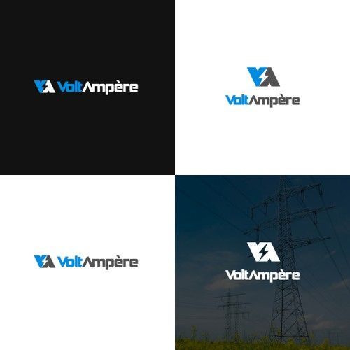 VoltAmp猫re 鈥?20VoltAmp猫re: High Voltage Engineering Consultancy Seeking Professional Logo
