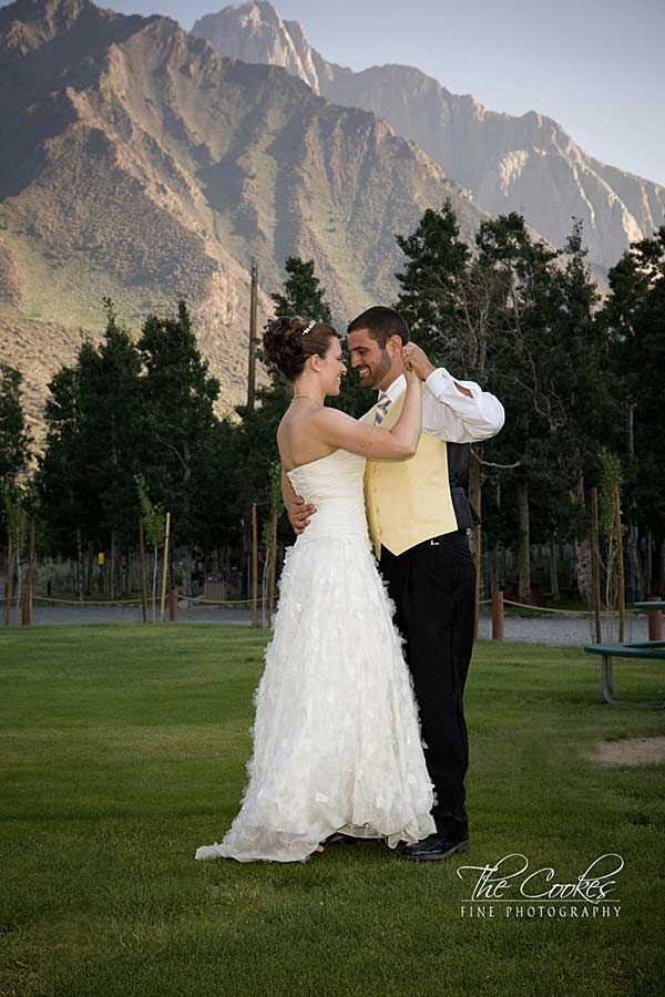 Convict Lake is a majestic place to hold a mountain wedding, outdoor ceremony, reception, rehearsal dinner during any season. The breathtaking views of the surrounding mountains will make your special day unforgettable! Photo: Cooke