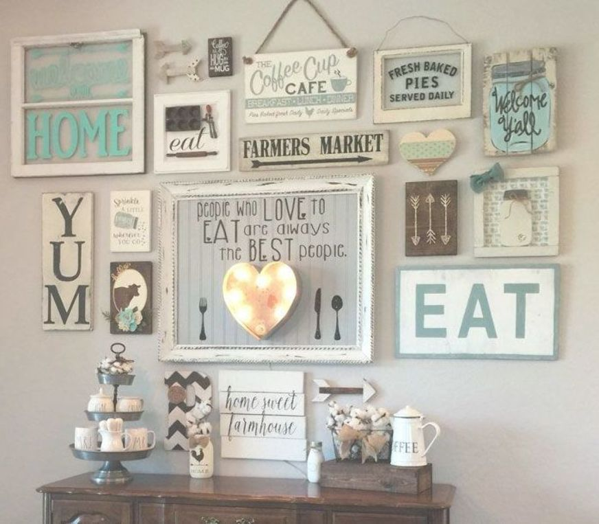 Cute Kitchen Wall Decor Ideas - Best Kitchen Wall Decor Ideas: Cute Modern Kitchen Wall Art, Signs, Pictures, Accessories and Decorations