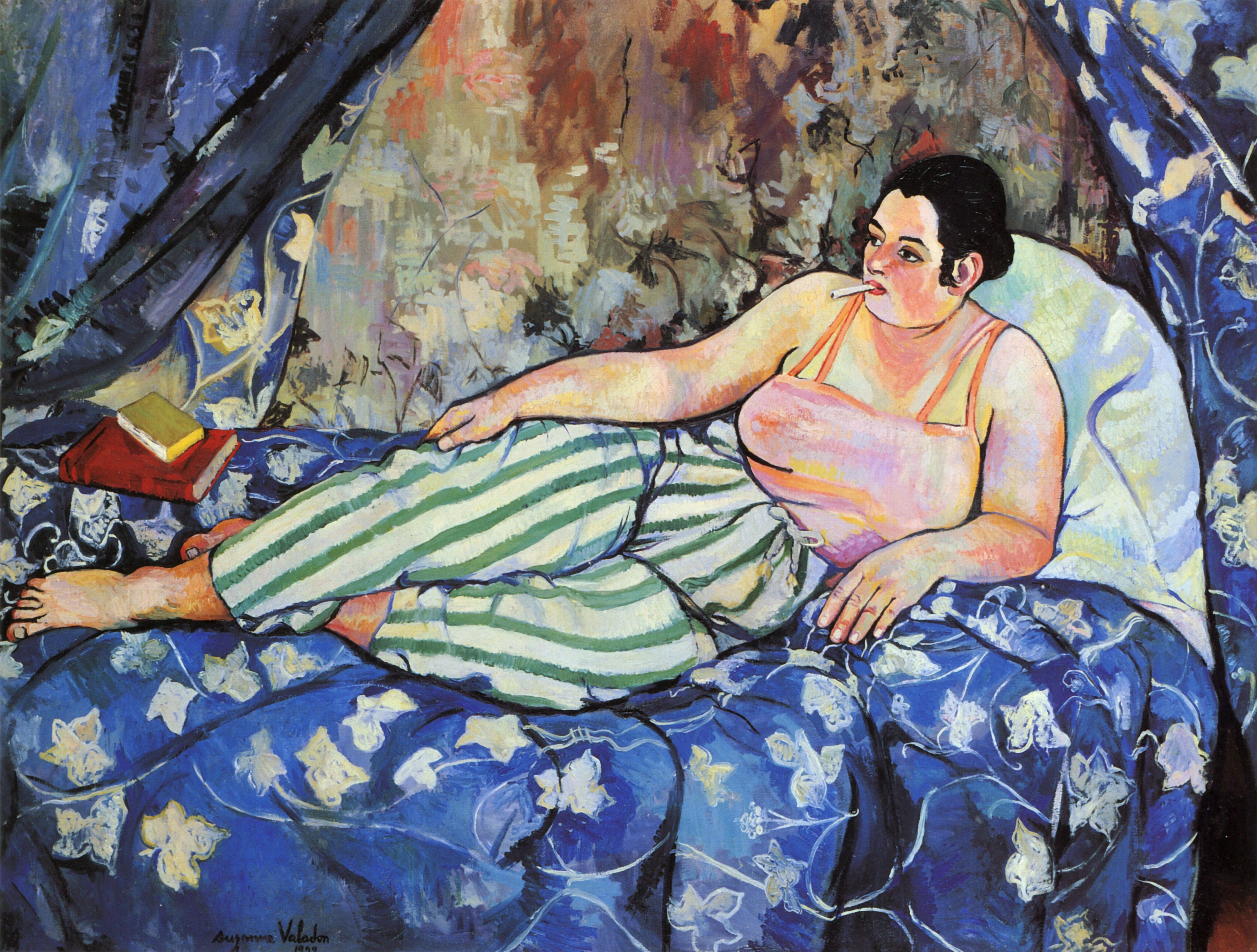 The Blue Room - Suzanne Valadon.